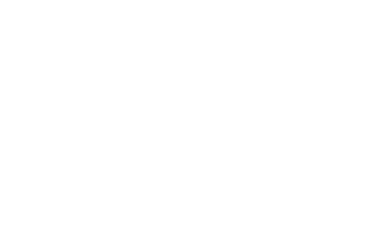 main-d'œuvre, L'industrie de la construction et sa fiscalité, Construction Richelieu, Construction Richelieu