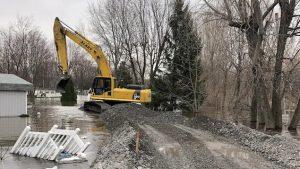 main-d'œuvre, Inondations Sainte-Marthe-Sur-Le-Lac, Construction Richelieu, Construction Richelieu