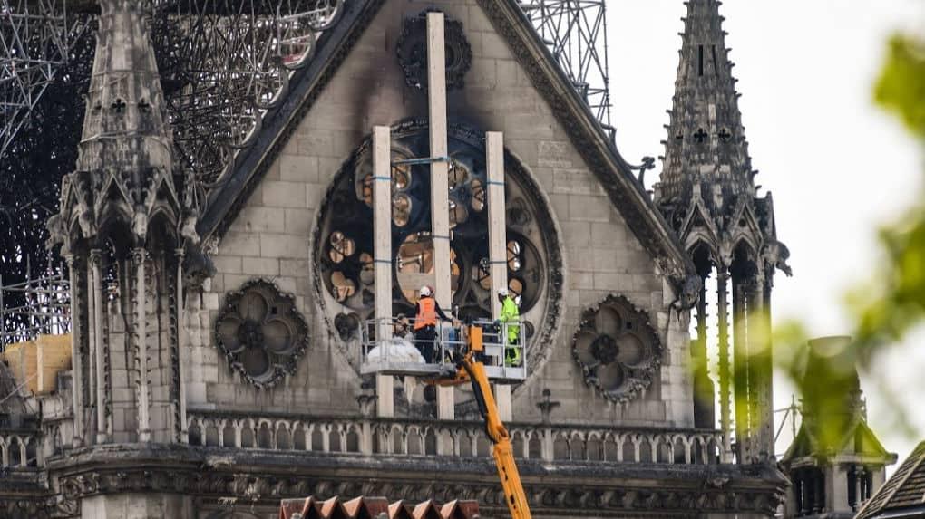 main-d'œuvre, La reconstruction de Notre-Dame, Construction Richelieu